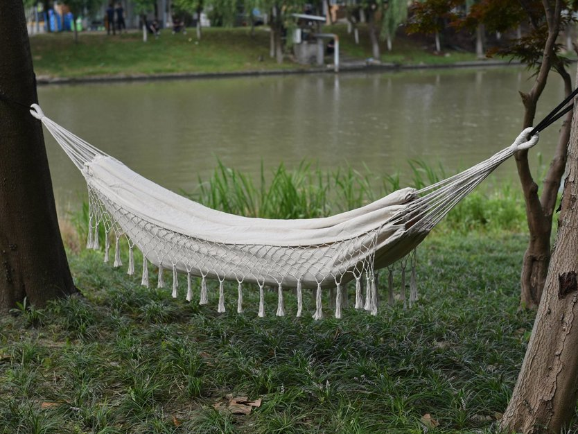 Valetti Hammock with fringes