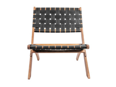 Leitmotiv chair Weave wood