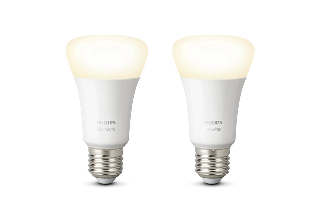 Philips Hue Bluetooth standaardlamp - E27 - warmwit licht - 2-pack