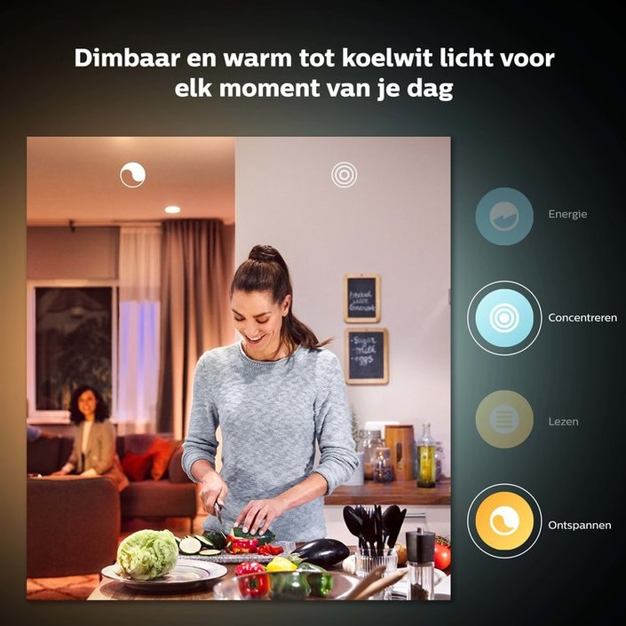Philips Hue Bluetooth standaardlamp - E27 - warm tot koelwit licht - 1-pack