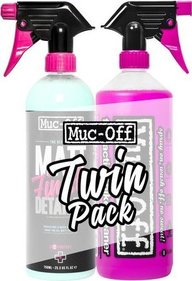 Muc-Off Twin Pack 1 L Nettoyant Vélo 750ML Finition Mate