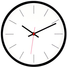 Valetti sporty wall clock 26 cm