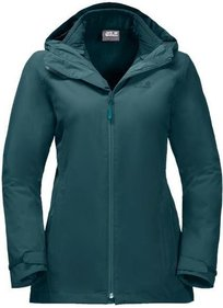 Jack Wolfskin Norrland 3-in-1 winter-regenjas dames