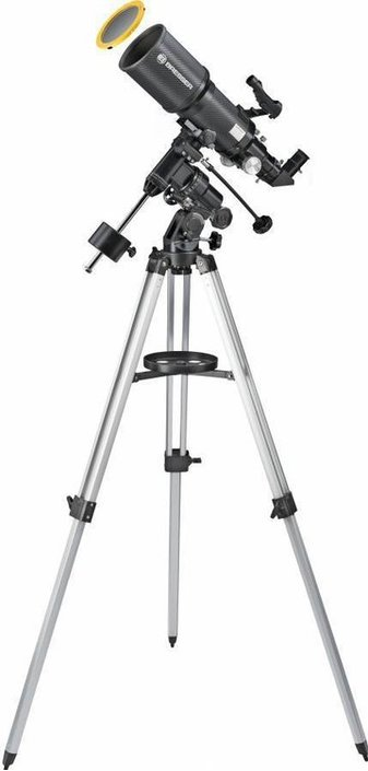Bresser Polaris 102/460 EQ3 telescope with solar filter