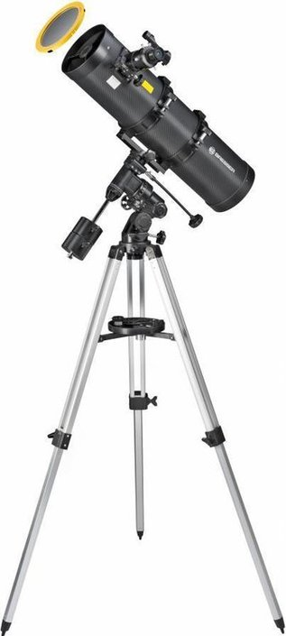Bresser Pollux 150/750 EQ3 mirror telescope with solar filter