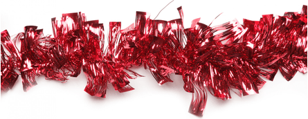 Christmas garland tinsel