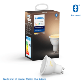 Philips Hue Bluetooth spot - GU10 - warm tot koelwit licht - 1-pack