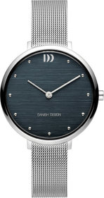 Danish Design Q1218 dameshorloge 33 mm - zilver