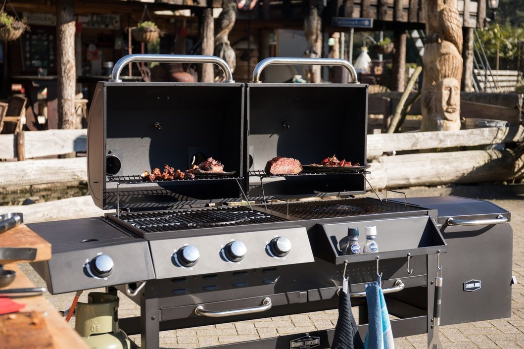 BBGrill Grand Canyon 2.0 houtskool-gasbarbecue
