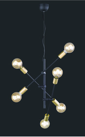 Trio Cross hanglamp 1