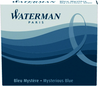 Waterman inktpatronen internationaal