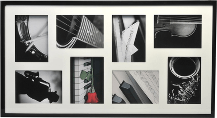 Henzo Piano 3D Gallery rectangular collage photo frame