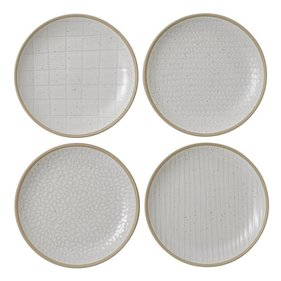 Royal Doulton Gordon Ramsay Maze Grill White 16cm - wit side plate set