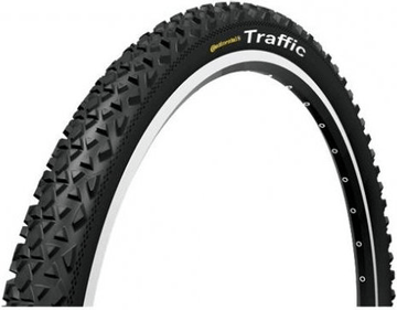 Continental Traffic Reflex Rigid Mountain Bike Tyre 26 x 2.1