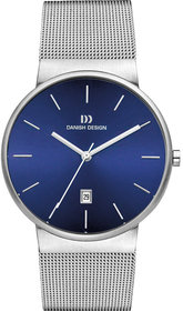Danish Design Q971 herenhorloge 40mm zilver