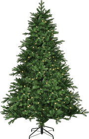 Black Box Brampton kerstboom led slim groen 120 cm