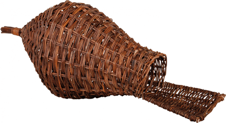 Esschert design NK45 30 x 71 x 30cm Wood Duck Nesting Basket - Brown