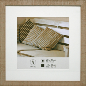 Henzo Driftwood square photo frame