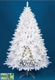 Royal Christmas Kunstkerstboom Washington Promo PVC Wit 180 cm
