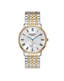 Montre Roamer Galaxy Gents Argent / Or
