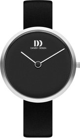 Danish Design Q1261 dameshorloge 36mm zwart