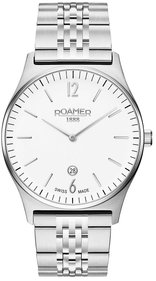 Roamer Elements 40mm silver armbandsur