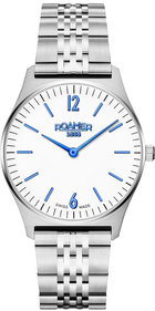 Roamer Elements 34mm silver / blå armbandsur