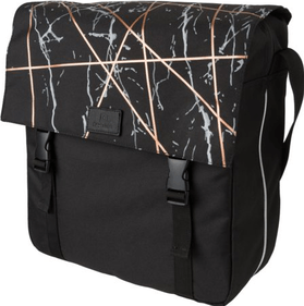 Fastrider Marble single bicycle bag black