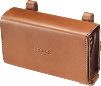 Brooks Pre-Aged D-Shaped Bag - Dark Tan