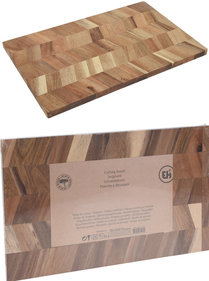 Valetti cutting board acacia wood 40x25x1cm