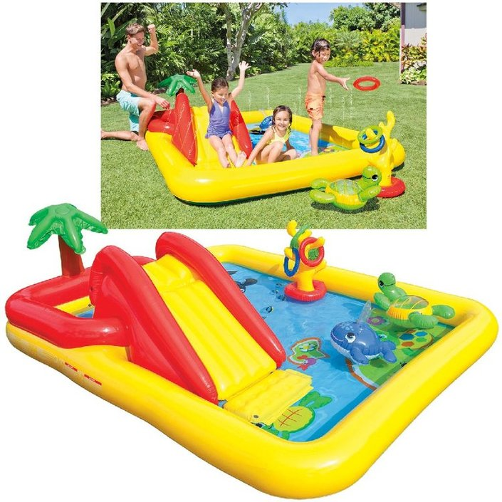 Intex Ocean Set playcentre opblaaszwembad