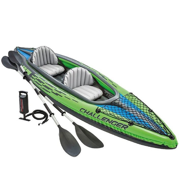 Intex Challenger K2 inflatable canoe set