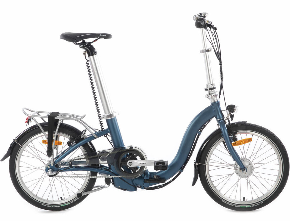 Takashi 42.392.23BE E-Three elektrische vouwfiets