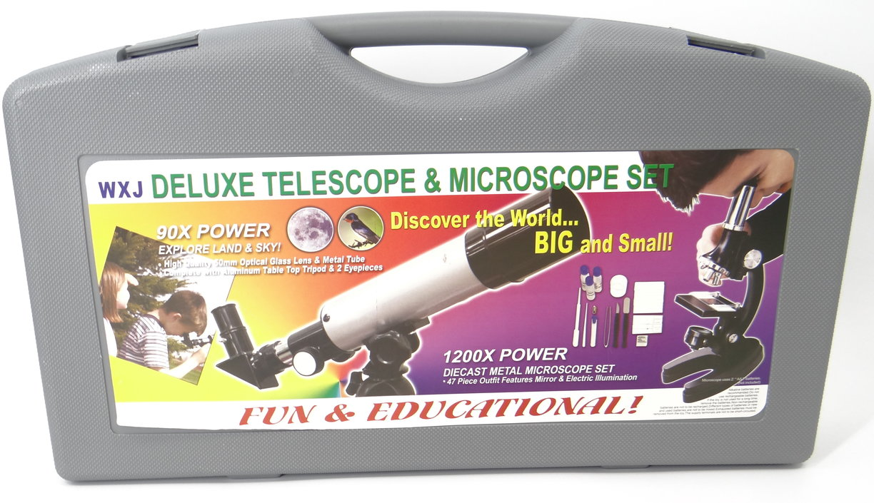 Valetti Junior Telescoop & Microscoop set