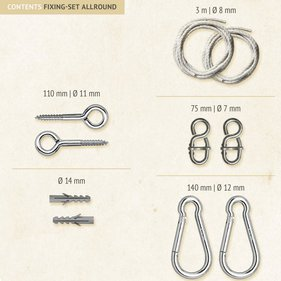 La Siesta Allround Hammock fixing set