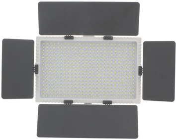 Linkstar LED-Lampen-Set VD-416D-K2 + Akku