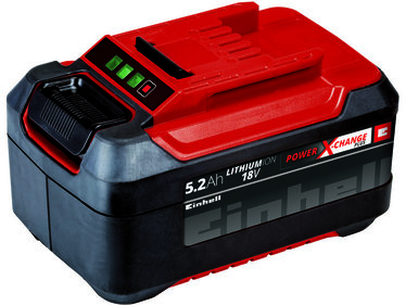 Einhell Power-X-Change 18 V / 5200 mAh Plus / Lithium-Ion Accu