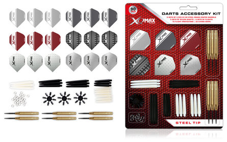 XQ Max Dart Accessory Kit Steeldart
