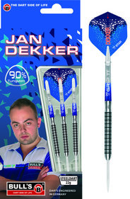 BULL'S Jan Dekker Original, Steeldart, 90% Tungsten, 22g