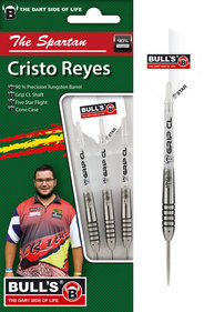 "BULL'S Champions Christo ""The Spartan"" Reyes Steel Dart"