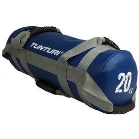 Tunturi Power bag - Strength bag - Sandbag - Fitness bag - 20 kg - Blauw
