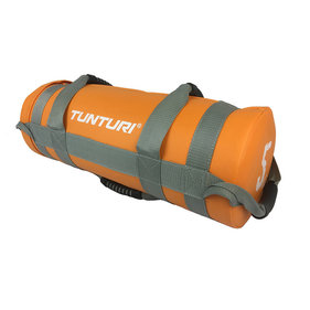 Tunturi Power bag - Strength bag - Sandbag - Fitness bag - 5 kg - Oranje