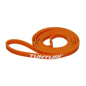 Tunturi Power Band - Weerstandsband - Fitness Elastiek - Extra Licht - Oranje
