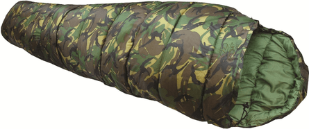 Highlander Cadet 350 mummy army sleeping bag