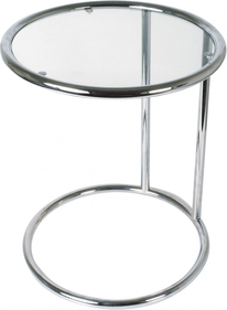 Leitmotiv Glass side table