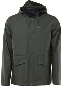 Rains Short Hooded Coat regenjas