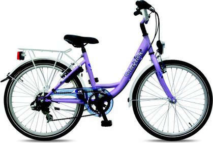 Golden Lion Girls 22 inch 6V kinderfiets