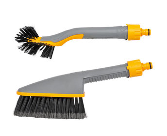 Hozelock Car Washing Brush Twin Pack