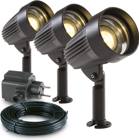 Garden Lights Corvus spot - set van 3 st.