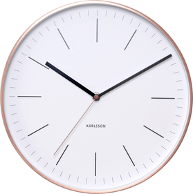 Karlsson Minimal wall clock